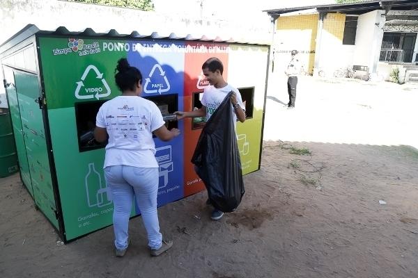 Pontos de Entrega Voluntária de resíduos recicláveis